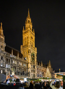 3rd Dec 2019 - Cathedral at Munich Christmas Market