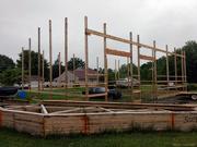 16th Jun 2019 - Pole barn: Two months' progress