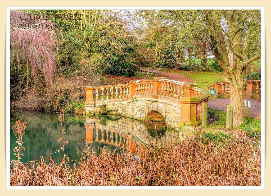 The Old Bridge,Castle Ashby Gardens by carolmw