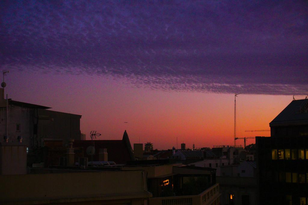 Evening sky by fr1da