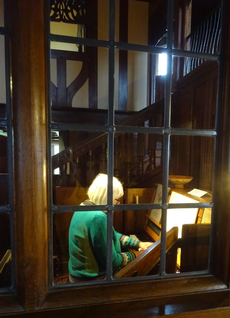 friend playing the piano at Blackwell by anniesue