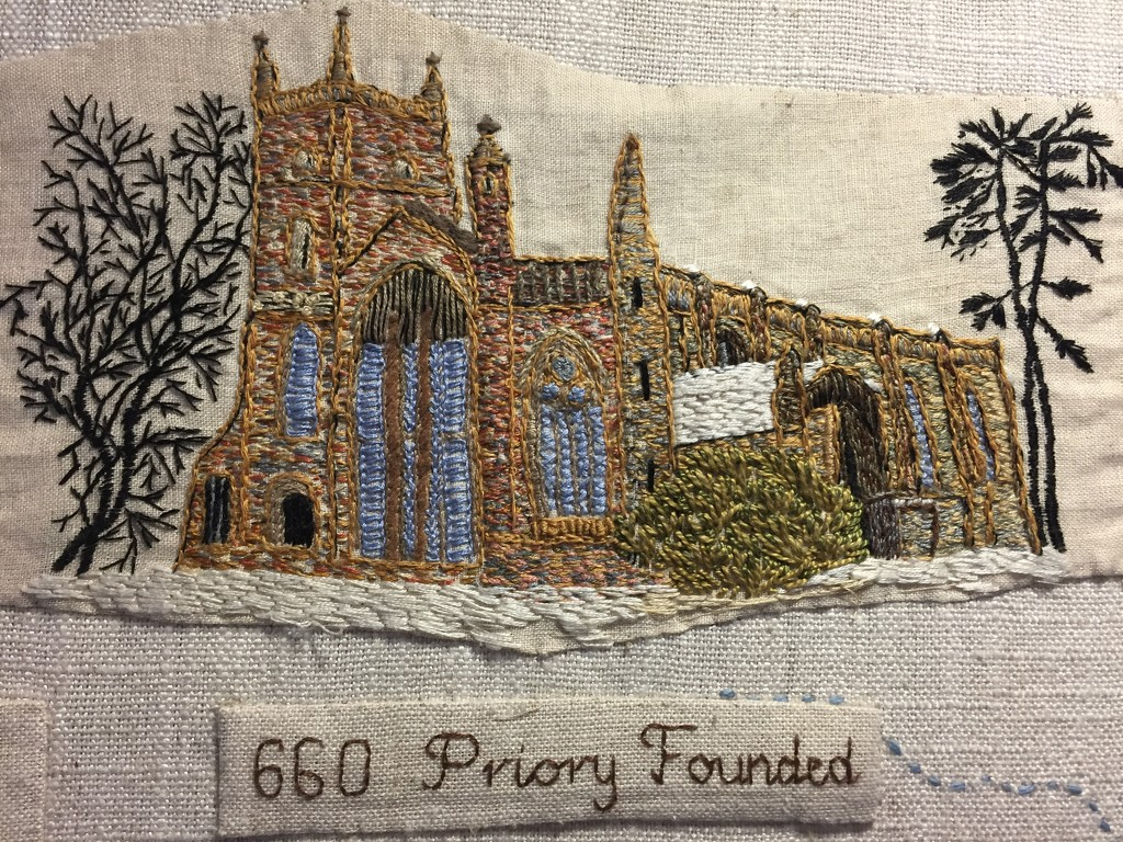 Leominster Priory by snowy