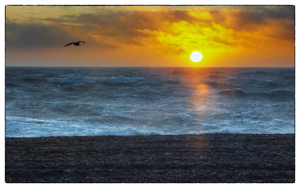 Sunset at Seaford by ivan