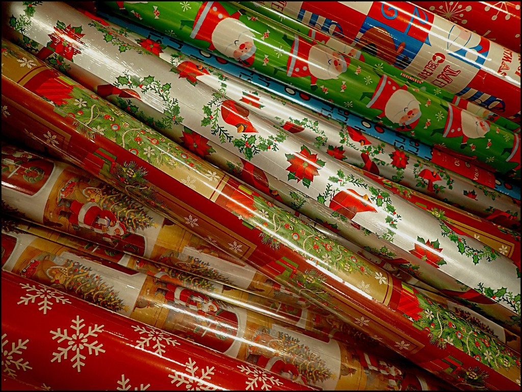 Wrapping Paper by olivetreeann