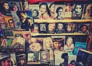 7th Dec 2019 - Bookshop faces
