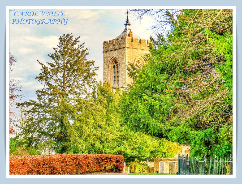 The Church Tower,Castle Ashby by carolmw
