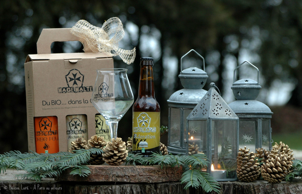 Christmas beers by parisouailleurs
