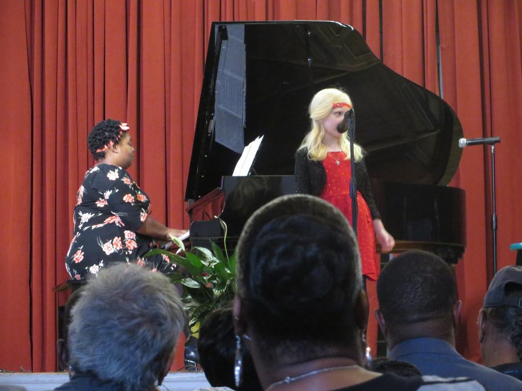 Children's music recital by margonaut