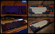 8th Dec 2019 - Mechanical 87 Key Keyboard, Retro Makeover.