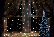 8th Dec 2019 - curtain lights