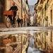 2019-12-10 pozzanghera / puddle in Bolzano