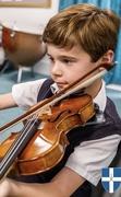 9th Dec 2019 - Enjoying the Violin