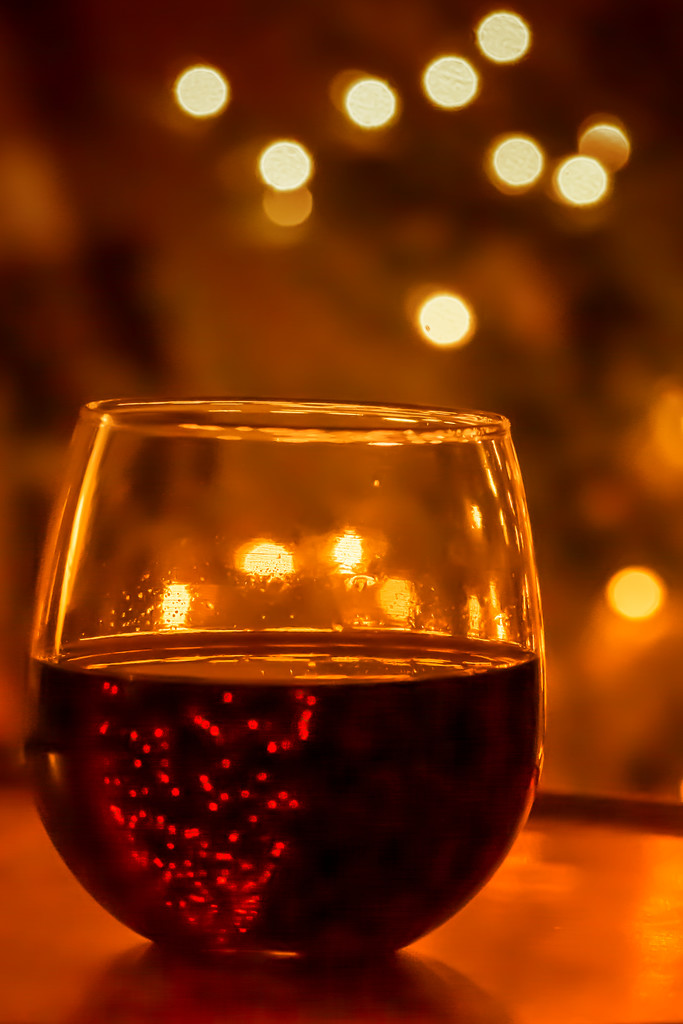 wine and tree bokeh by jernst1779
