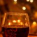 wine and tree bokeh