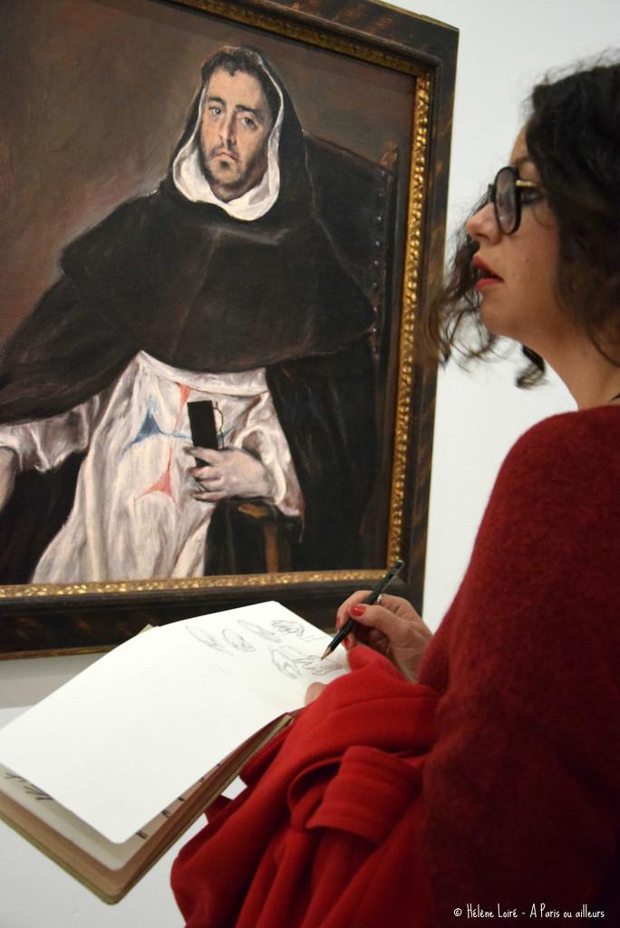At Greco's exhibition by parisouailleurs