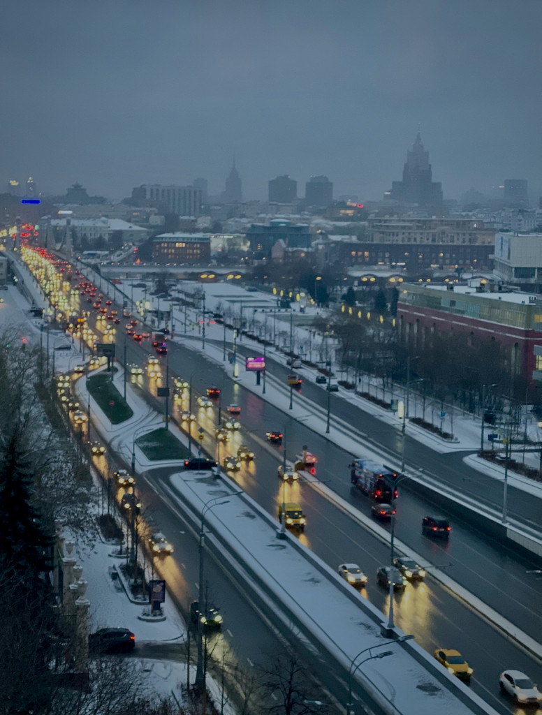 Good Morning, Moscow by jyokota