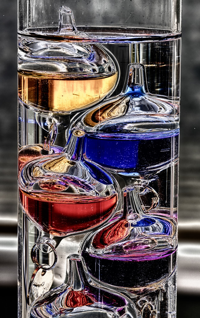 Galileo Thermometer by kvphoto