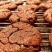 Chestnut-chocolate cookies.
