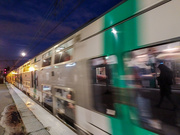 11th Dec 2019 - Moving train