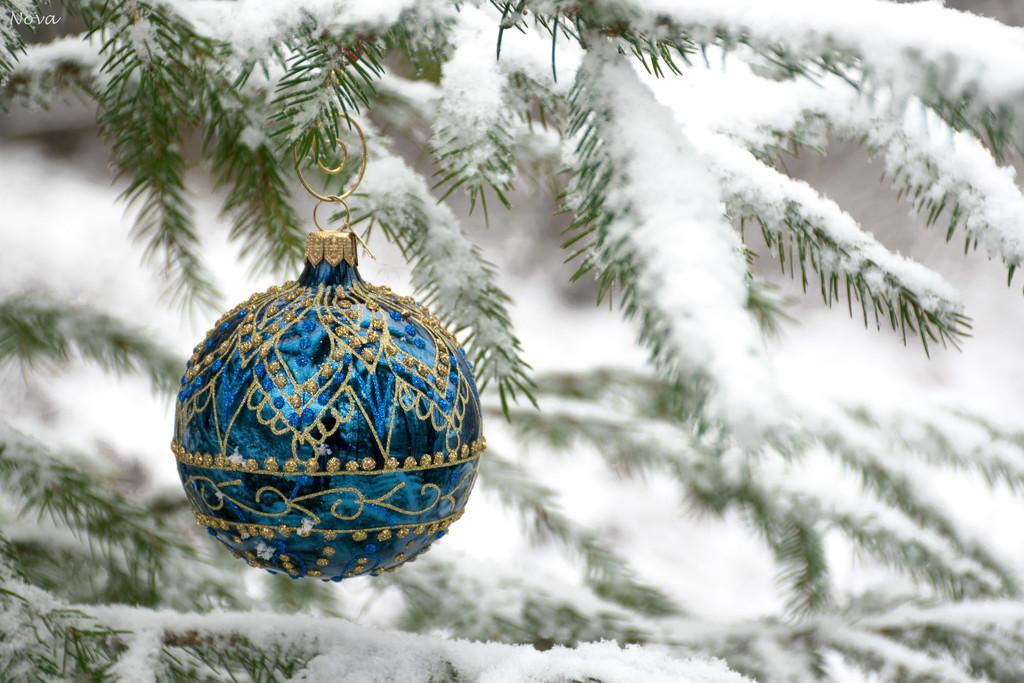 Christmas ornament by novab