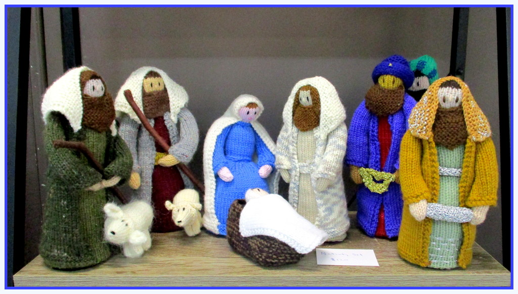 A Knitted Nativity scene by 777margo