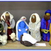A Knitted Nativity scene