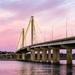 Clark Bridge Pink Sunset