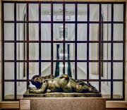 "8th Dec 2019 - Botero's ""Woman with Pocket Mirror"""