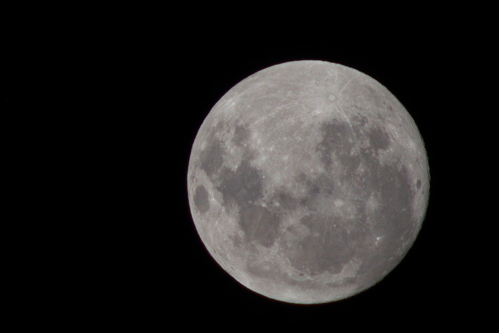 The last full moon of the decade. by kgolab