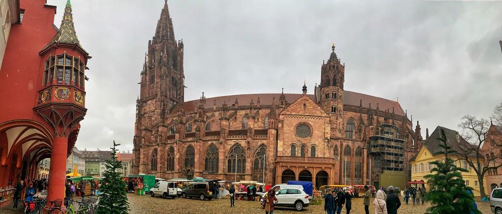 Freiburg-im-Brisgau cathedral.  by cocobella