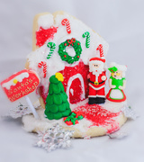 13th Dec 2019 - holiday cookie scene