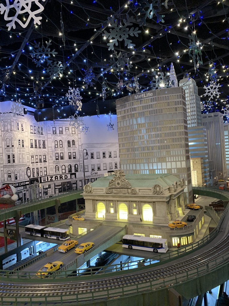 Train show at grand central by blackmutts