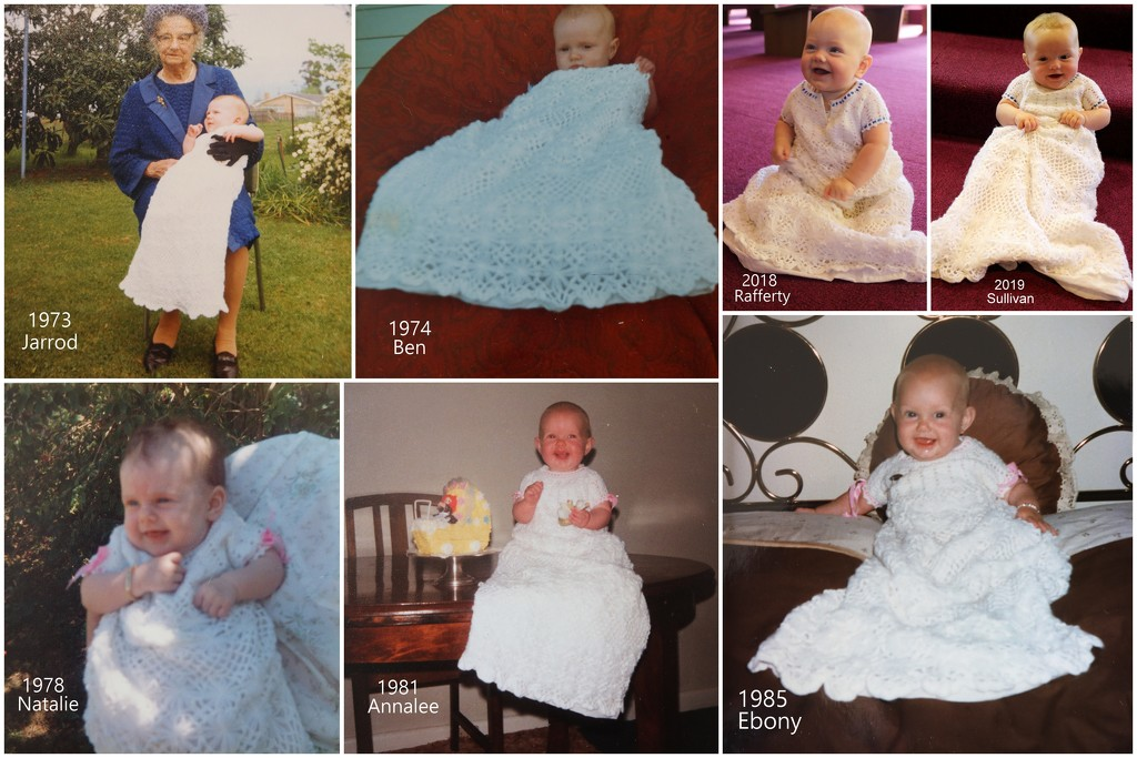 46 years of the Christening gown by gilbertwood