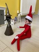 16th Dec 2019 - Elf chatting to Nanny