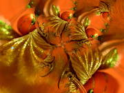 17th Dec 2019 - Gold leaves and oranges..........