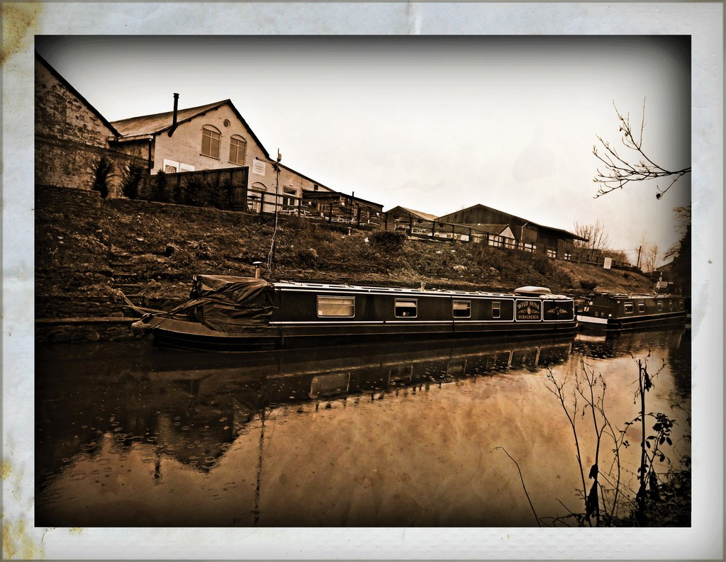 Canal Canvas  by ajisaac