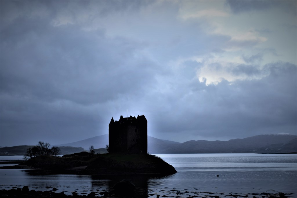 Castle Stalker by christophercox