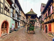 19th Dec 2019 - Iconic streets in Eguisheim.