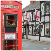 20th Dec 2019 - A pop of red with the phone box and the England flags