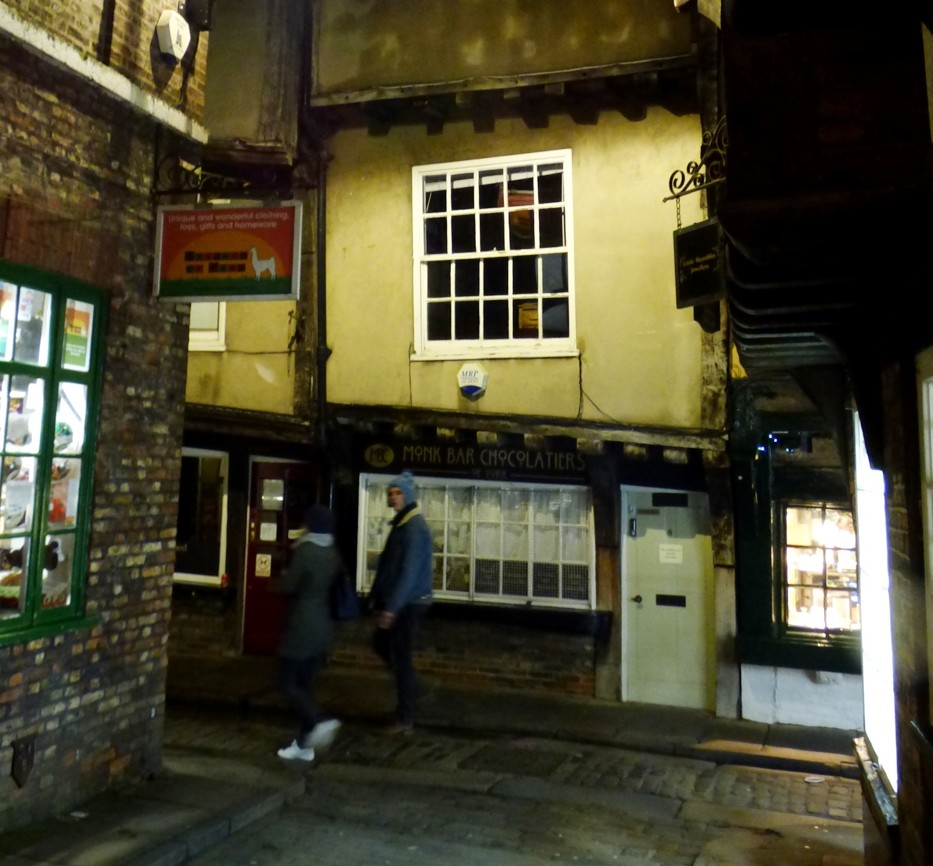 A Glimpse into the Shambles by fishers