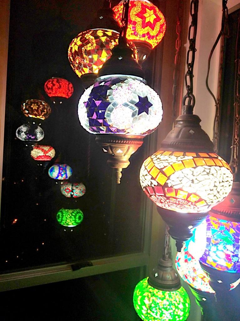 Turkish lights & reflection by 777margo