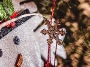 15th Dec 2019 - fairy light snowflake