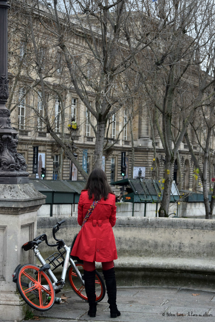 the lady in red by parisouailleurs