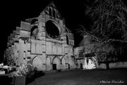 16th Dec 2019 - Abbaye de Longpont by night
