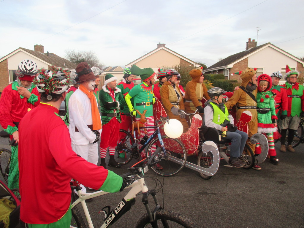 Local Festive Cycling Club by foxes37