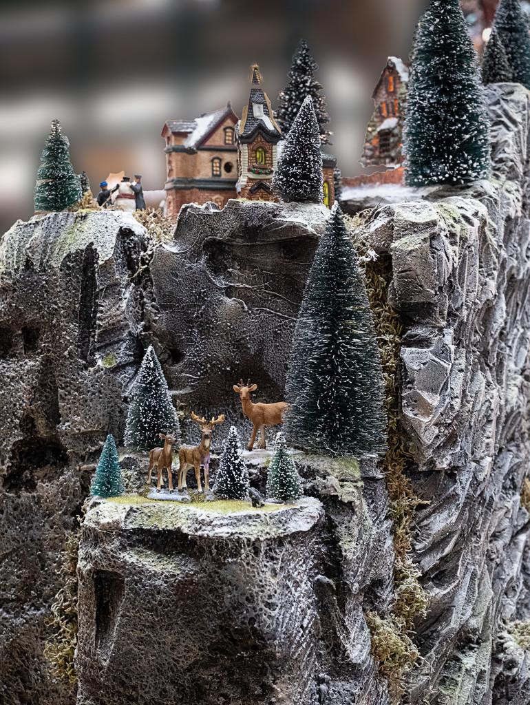 Model Alpine Village - Detail 3 by vignouse