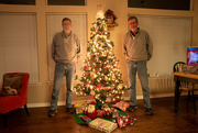 22nd Dec 2019 - The Twins Wishiing You A Merry Christmas!