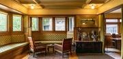 20th Dec 2019 - Frank Lloyd Wright Home, Living Room