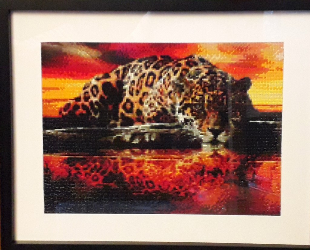 Finished and framed by mave