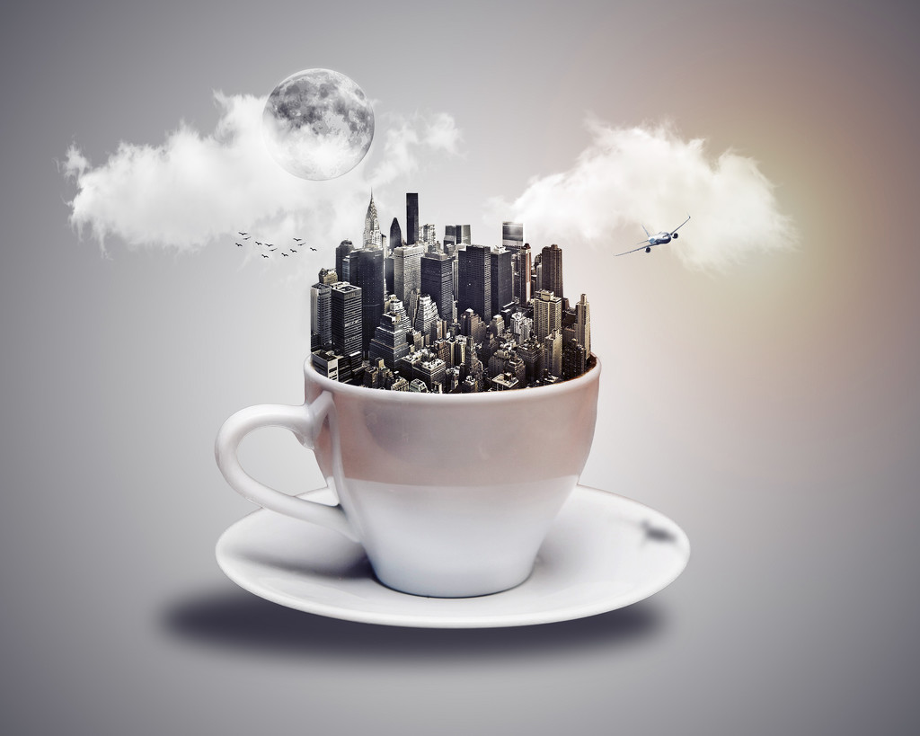 A Cup of City by rosiekerr